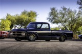 1972 GMC CUSTOM PICKUP BLACK GOLD