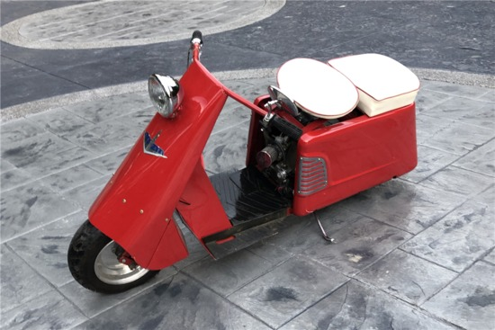 1953 CUSHMAN ALLSTATE SCOOTER