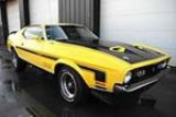 1971 FORD MUSTANG MACH 1 CUSTOM FASTBACK