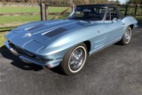 1963 CHEVROLET CORVETTE 327/250 CONVERTIBLE