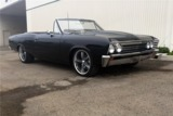 1967 CHEVROLET CHEVELLE CUSTOM CONVERTIBLE