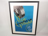 1930S NEW GOODYEAR AIRWHEEL G3 TIRES SERVICE STATION POSTER