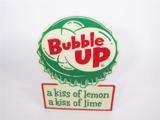 1950S BUBBLE UP SODA TIN SIGN