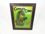 1920S CUPPLES CORD TIN GARAGE SIGN