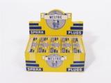 FULL DISPLAY BOX OF CIRCA 1930S WESTRIC SPARK PLUGS