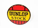 1930S DUNLOP TIRES PORCELAIN GARAGE SIGN