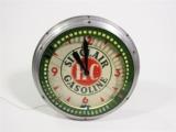 CIRCA 1930S-40S HC SINCLAIR GASOLINE NEON SPINNER CLOCK