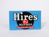 1930S HIRES ROOT BEER TIN FOUNTAIN DISPENSER INSERT SIGN