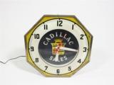 RARE 1930S-40S CADILLAC SALES DEALERSHIP SHOWROOM NEON CLOCK