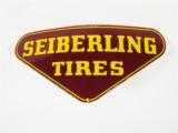 1950S SEIBERLING TIRES PORCELAIN DEALERSHIP SIGN