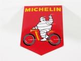 1967 MICHELIN BICYCLE TIRES PORCELAIN DEALER SIGN