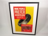 1930S GOODYEAR TIRES SALES POSTER