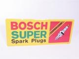 BOSCH SUPER SPARK PLUGS EMBOSSED GARAGE SIGN
