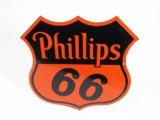 1949 PHILLIPS 66 PORCELAIN SERVICE STATION SIGN