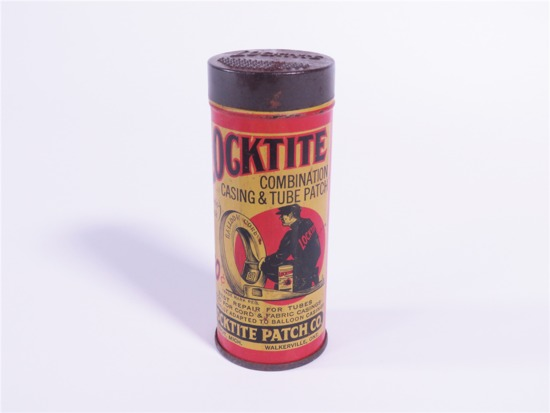 1920S LOCKTITE CASING AND TUBE PATCH TIN