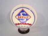 CIRCA 1940S-50S SKELLY KEOTANE GASOLINE GAS PUMP GLOBE