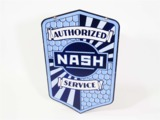 LATE 1920S-EARLY 30S NASH AUTOMOBILES PORCELAIN SIGN