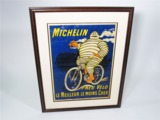 CIRCA TEENS MICHELIN PNEUS V...LO (BICYCLE TIRES) SERVICE STATION POSTER