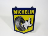 EARLY 1950S MICHELIN TIRES PORCELAIN SIGN