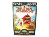 1920S BRITISH DOMINIONS AUTHORIZED SERVICE AGENT GARAGE SIGN