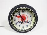 1940S PONTIAC AUTOMOBILES NEON DEALERSHIP CLOCK