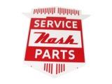 LATE 1950S NASH AUTOMOBILES SERVICE PARTS PORCELAIN DEALERSHIP SIGN