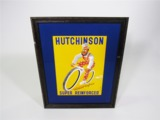 1930S HUTCHINSON SUPER REINFORCED BICYCLE TIRES POSTER