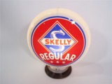 CIRCA 1940S-50S SKELLY REGULAR GASOLINE GAS PUMP GLOBE
