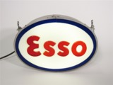 ESSO GASOLINE LIGHT-UP SERVICE STATION SIGN