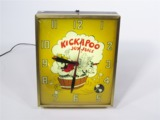 1965 KICKAPOO JOY JUICE LIGHT-UP DINER CLOCK