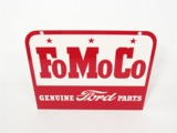 LATE 1950S-EARLY 60S FORD FOMOCO GENUINE PARTS TIN DEALERSHIP SIGN