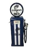 ADDENDUM ITEM - FANTASTIC 1960S SERVICE DEPARTMENT GAS PUMP RESTORED IN SHELBY COBRA REGALIA