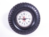 FABULOUS CIRCA 1930S-40S FISK TIRES ELECTRIC COUNTERTOP CLOCK
