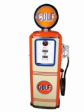 1940S-50S GULF OIL SERVICE STATION GAS PUMP