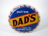 1950S DADS ROOT BEER TIN SIGN