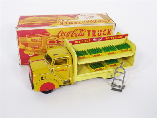 1950S COCA-COLA TOY DELIVERY TRUCK