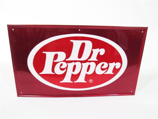VINTAGE DR. PEPPER TIN SIGN