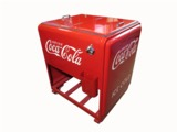 CIRCA 1930S COCA-COLA WESTINGHOUSE SERVICE STATION/GENERAL STORE SODA BOTTLE ICE COOLER