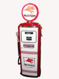 1950S MOBILGAS TOKHEIM MODEL 300 RESTORED SERVICE STATION GAS PUMP