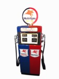 1957 MOBILGAS DUAL-PRODUCT SERVICE STATION PUMP