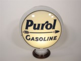 1930S PURE OIL GAS PUMP GLOBE