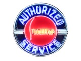 CIRCA 1940S STUDEBAKER AUTHORIZED SERVICE NEON PORCELAIN DEALERSHIP SIGN