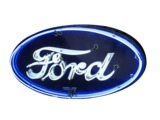 1930S FORD AUTOMOBILES NEON PORCELAIN DEALERSHIP SIGN