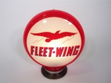 HIGHLY PRIZED FLEET-WING GASOLINE GAS PUMP GLOBE