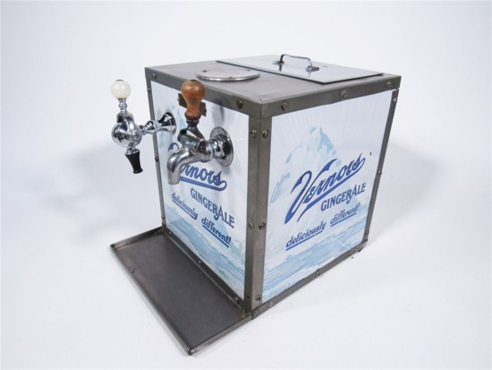 1920S VERNORS GINGER ALE SODA-FOUNTAIN SYRUP DISPENSER