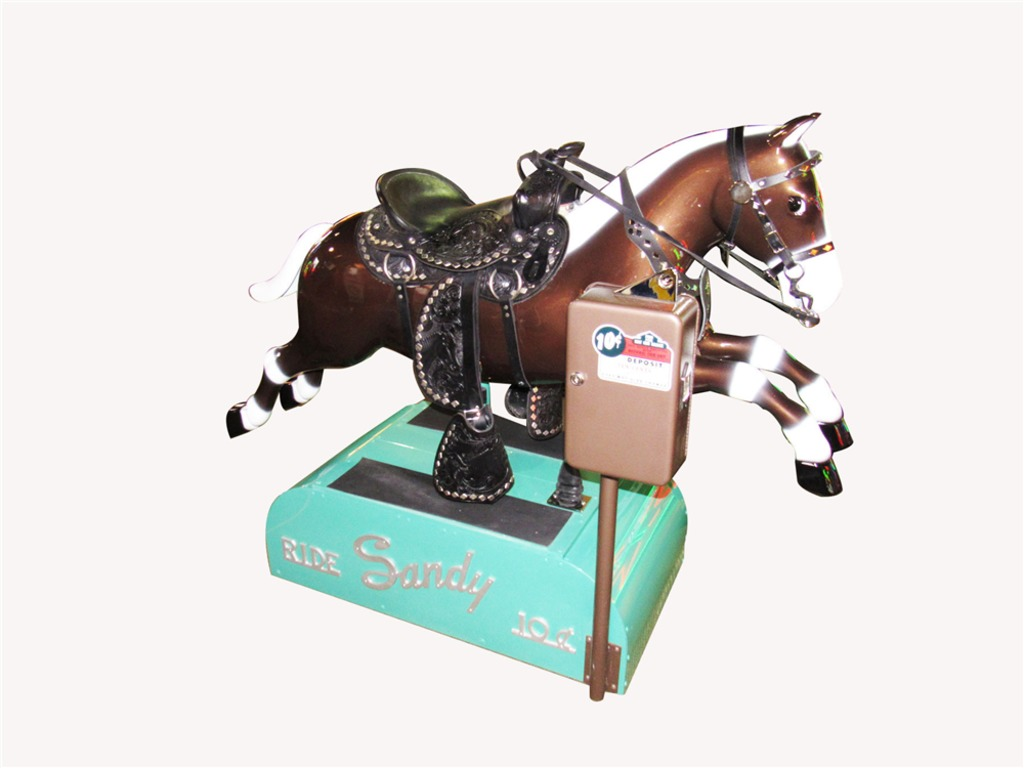 1950S RIDE SANDY THE HORSE COIN-OPERATED KIDDIE RIDE