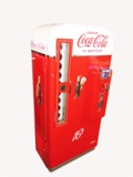1950S COCA-COLA COIN-OPERATED SODA MACHINE