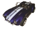 3/4-SCALE SHELBY COBRA TRIBUTE GO-KART