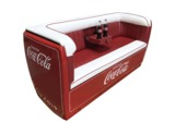 COCA-COLA REFRIGERATED COOLER COUCH