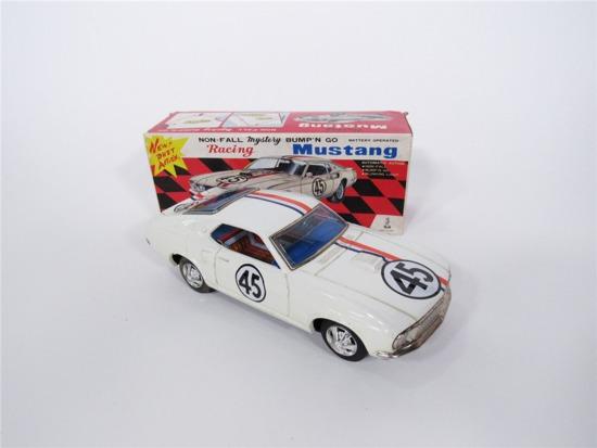 1969 FORD RACING MUSTANG TIN LITHO CAR